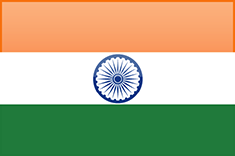 meer over India, De Vlag